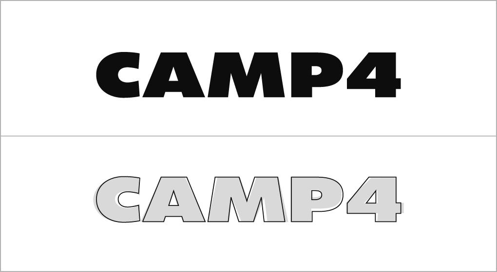 Logo Redesign Camp4